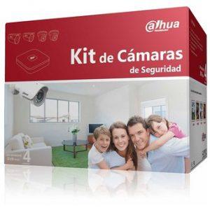 KIT CAMARAS DE VIDEOVIGILANCIA CCTV