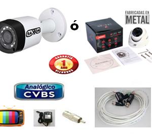 KIT DE CAMARA CCTV PARA VERLA EN UNA TV